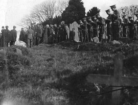Military Funeral at Balrothery MF Adjust