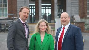 EU Election Candidate Barry Andrews visits Balbriggan this week