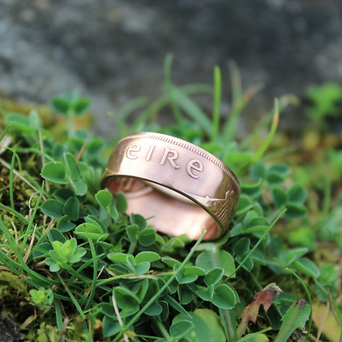 Old Irish Penny Ring or Pingin
