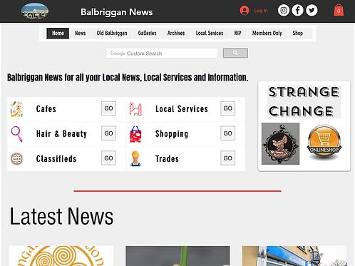 Balbriggan News Advert Renewal