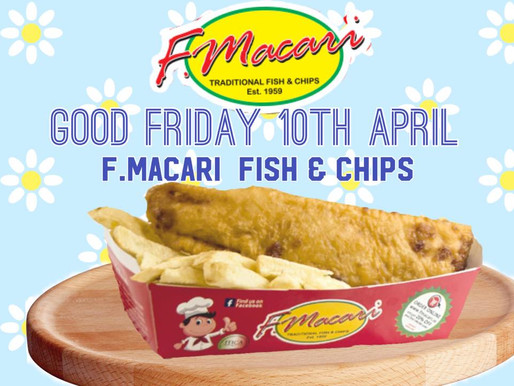 F. Macari Famous Fish and Chips for Balbriggans Isolation Volunteers