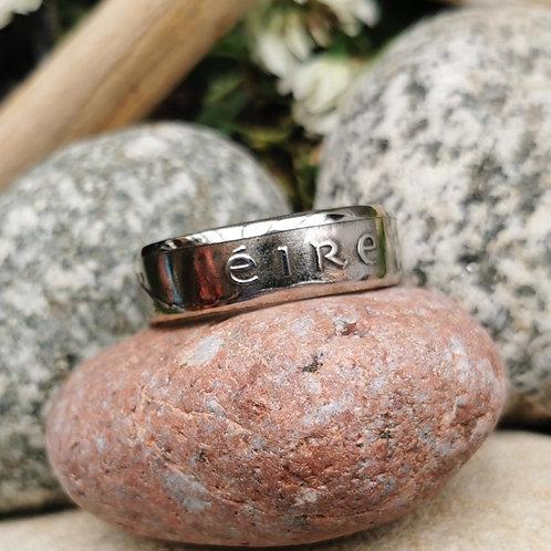 Old Irish 10 pence Ring