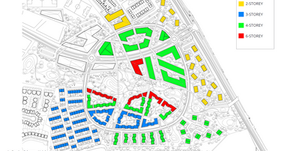 Why are 341 Castleland Master Plan submissions hidden from public view?