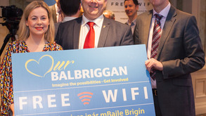 Balbriggan first of many local towns to get free WiFi