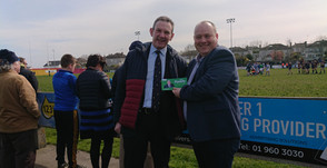 Canvas in Skerries and a visit to Skerries Rugby Club to meet some fans.