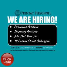 Recruitment Balbriggan
