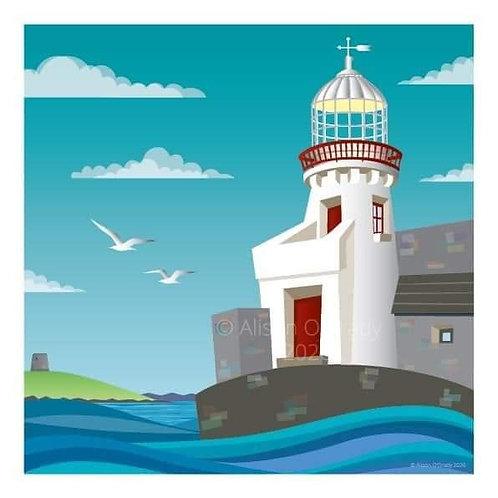 Balbriggan Lighthouse 2020 Framed Print A