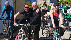 €17,000 Raised for Skerries Youth Support Services with 24 hours static cycle.