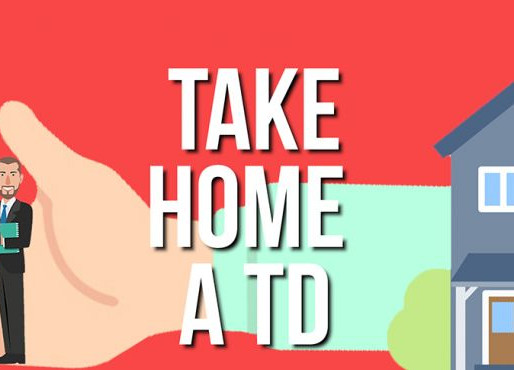 Balbriggan Business gets to 'Take a TD Home' For a Day.