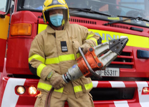 Appreciation and honour for Balbriggan Firefighters on National Services Day