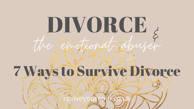 7 Ways to Survive Divorcing the Emotional Abuser - be clear on what you want