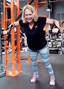 TRX. Suspension training. Core. Push up variations. Sport with pleasure.
