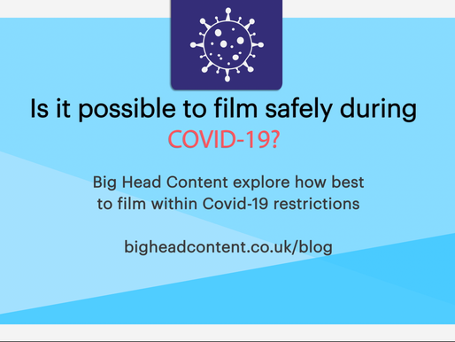 Is it possible to film safely within Covid19 restrictions?