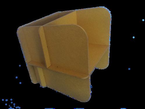 modülo III jaune teinté masse