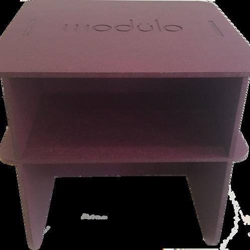 modülo III violet teinté masse