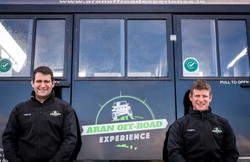 Aran Off Road Experience Pádraig and Aonghus Hernon
