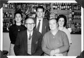 Helen Lillis Nee Raftery, Donal Raftery, Ann Raftery, Thomas A Raftery & Kay Raftery Nee Caulfield Circa 1960