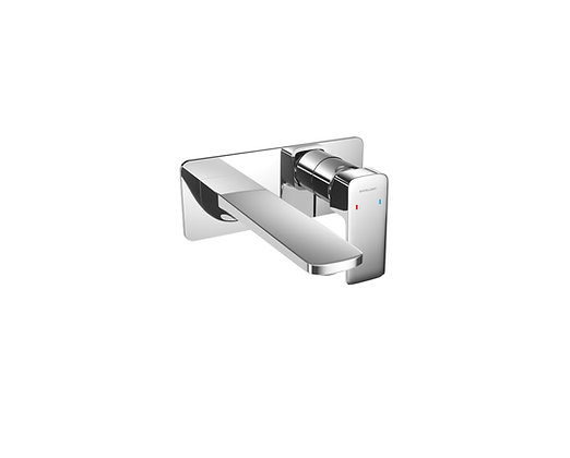 Concealed Basin Mixer with Click-Clack Plug