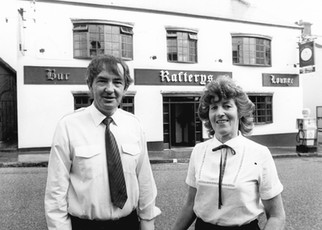 Donal and Therese Raftery 1984