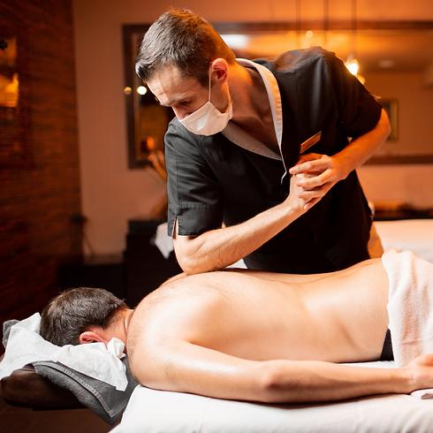 Safe massage covid-19 therapy holistic g