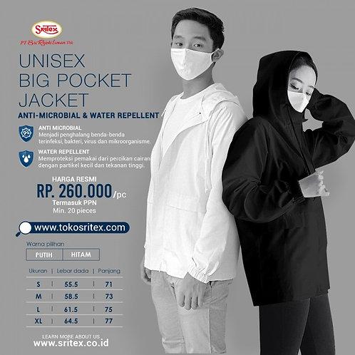 Куртка большие карманы -UNISEX