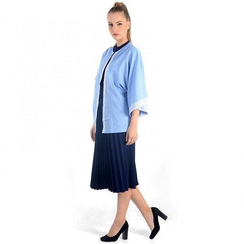 Открытый блейзер кимоно