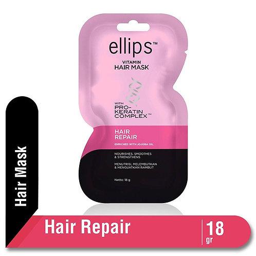 Ellips Vitamin Hair Mask With Pro Keratin Hair Repair Sachet 18 gr
