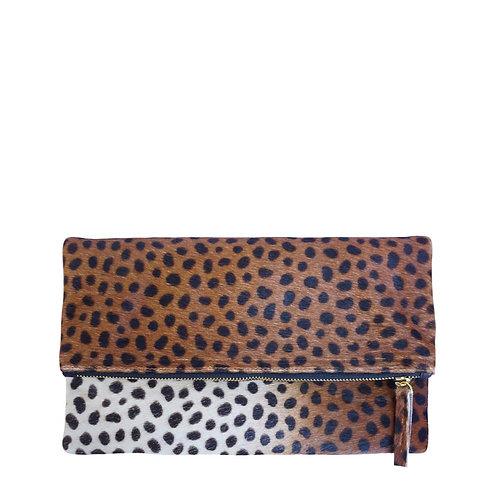 Леопардовая клатч