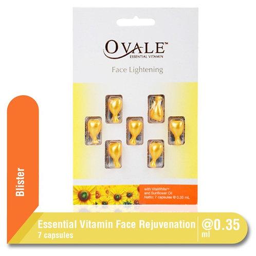 Ovale Face Essential Vitamins Lightening блистер 7 капсул