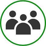 Group, partnership image, icon