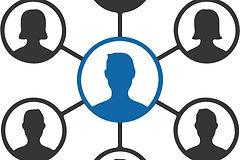 team network, network diagram
