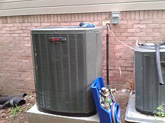installation of new Trane systems