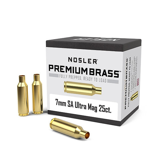 Nosler Brass 7mm Rem SA Ultra Mag