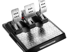 Thrustmaster T-LCM racing pedals get loadcell to compete with Fanatec CSL Elite LC