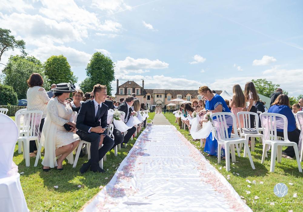 Photographe mariage Paris cérémonie laïque Manoir de Mon Père