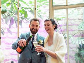 UN SUPERBE MARIAGE D'HIVER À PARIS - C & D