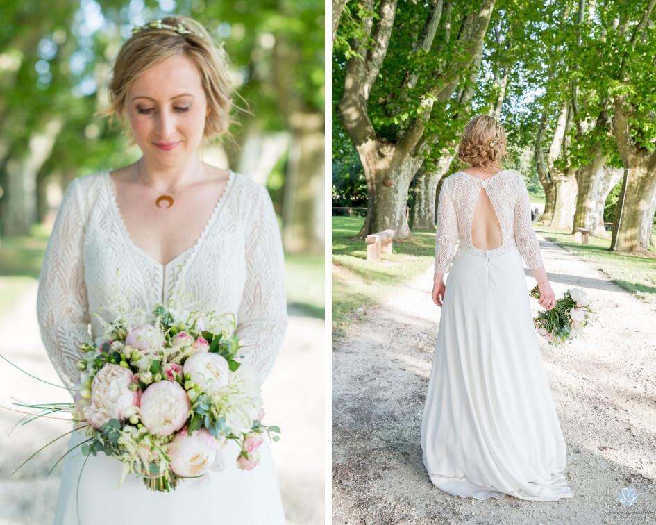 Photographe mariage mariée Mas de Loisonville Grillon Provence Gard Lubéron Savoie Haute-Savoie