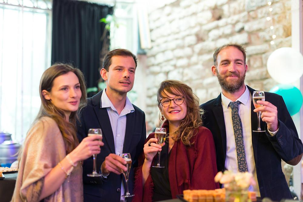 Photographe mariage Paris vin d'honneur espace Vitet