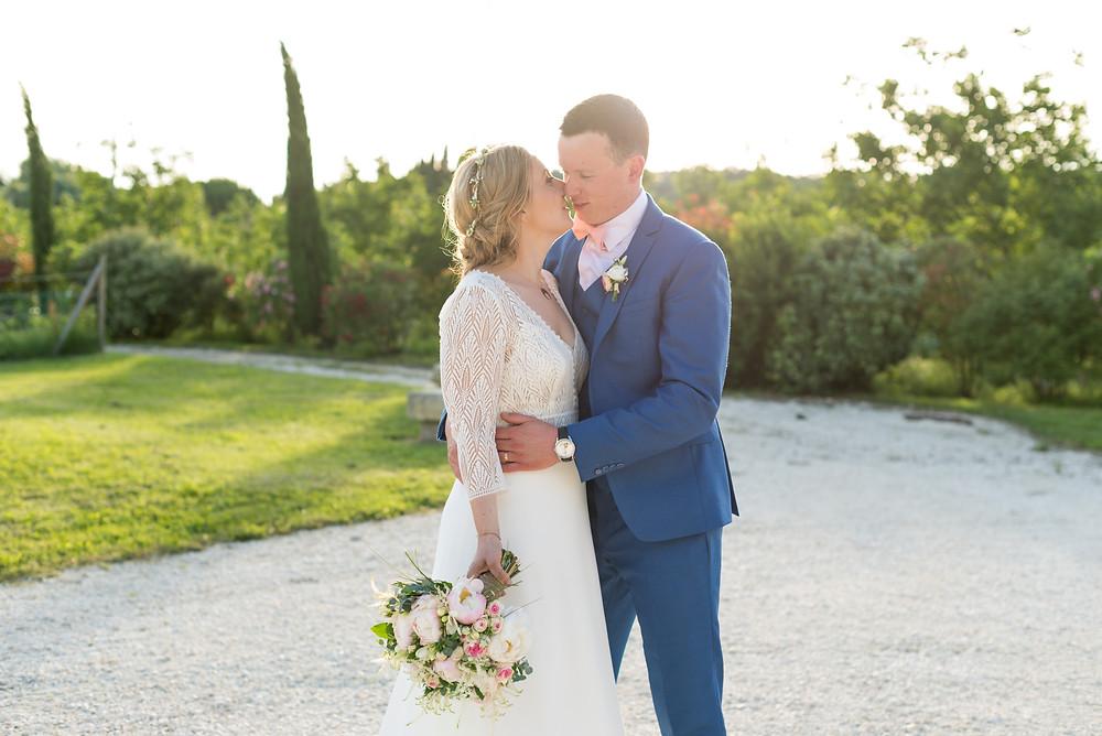 Photographe mariage mariés Mas de Loisonville Grillon Provence Gard Lubéron Savoie Haute-Savoie