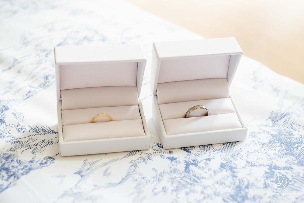 Photographe mariage Paris mariée alliances préparatifs Manoir de Mon Père