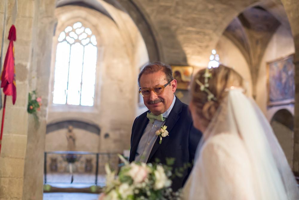 Photographe mariage Eglise Valréas France Provence Gard Lubéron