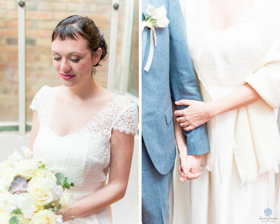 Photographe mariage Paris mariée
