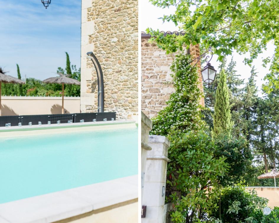 Photographe mariage Mas de Loisonville Grillon Provence piscine mas provençal