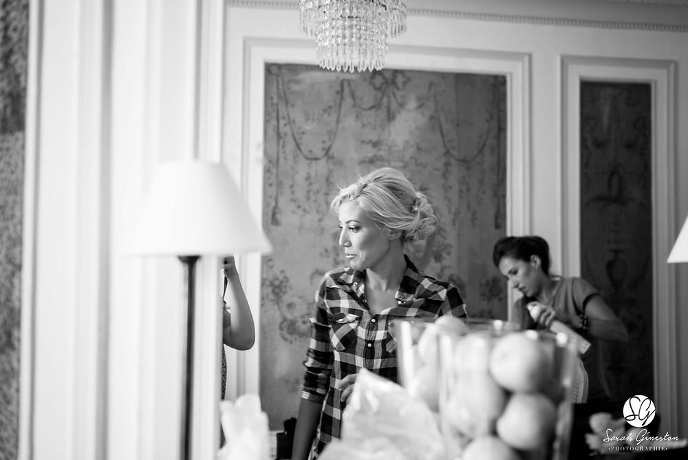 Photographe mariage Paris préparatifs mariée