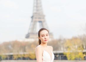 SÉANCE PHOTO PORTRAIT MODE   UNE MARIÉE À PARIS
