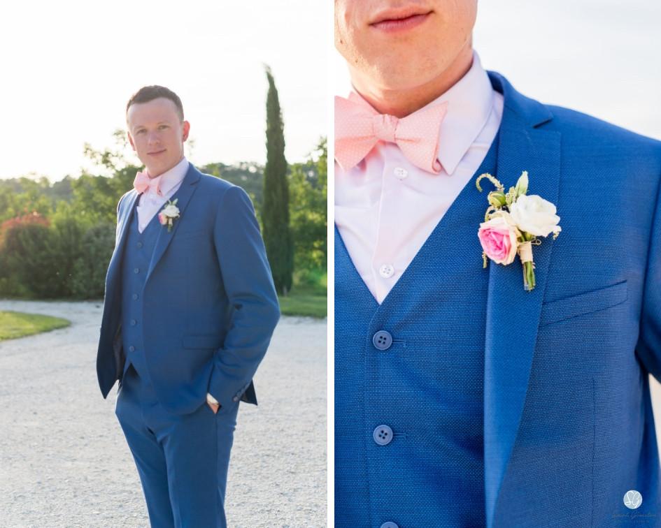 Photographe mariage marié Mas de Loisonville Grillon Provence Gard Lubéron Savoie Haute-Savoie