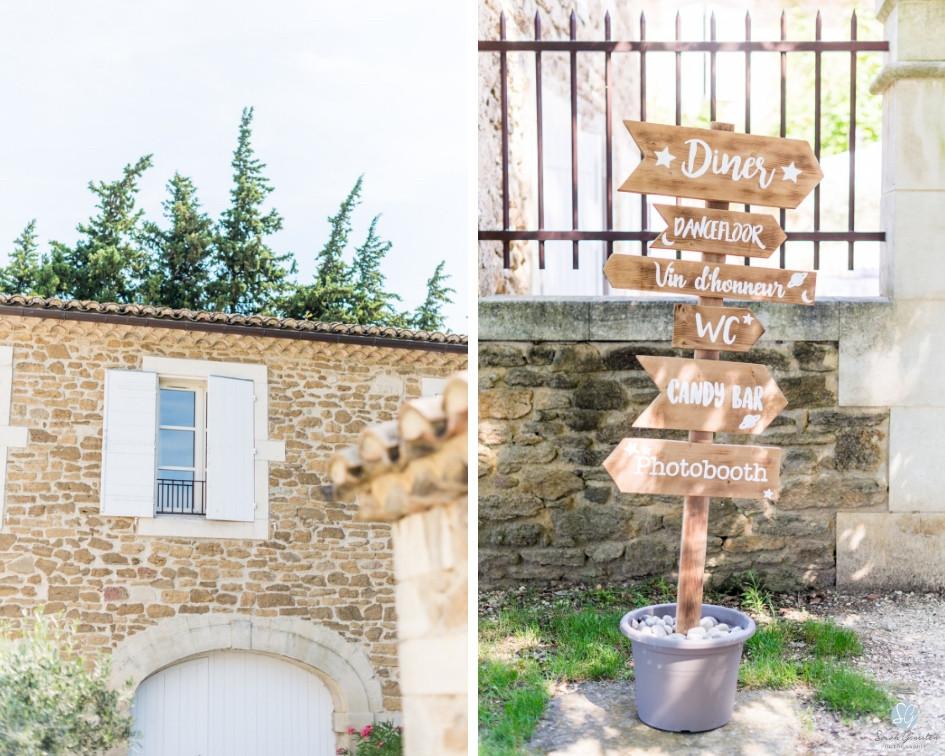 Photographe mariage Mas de Loisonville Grillon Provence Lubéron Gard Savoie Haute-Savoie
