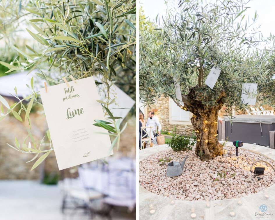 Photographe mariage décoration plan de table Mas de Loisonville Grillon Provence Gard Lubéron Savoie Haute-Savoie