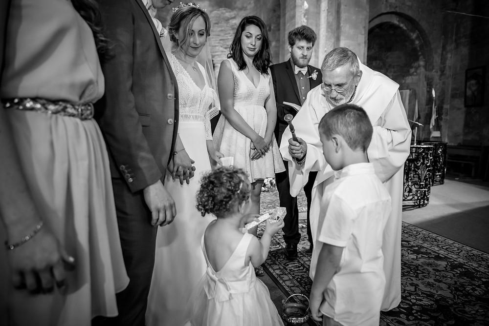 Photographe mariage Eglise Valréas France Provence Savoie Haute-Savoie
