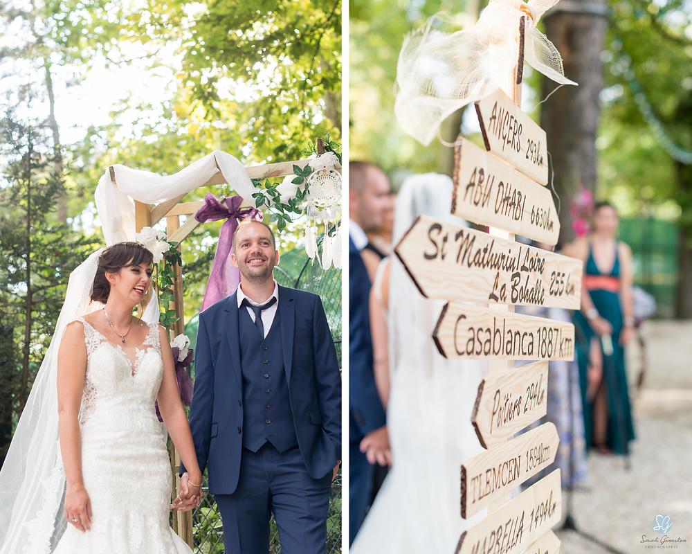 Photographe mariage Paris Le Chalet du Lac cérémonie laïque